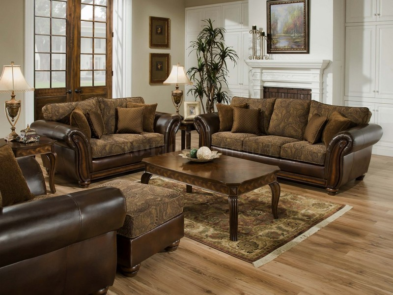 Loveseat And Sofa Set