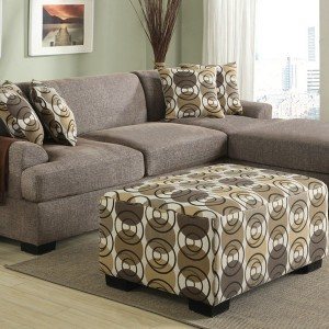 Loveseat With Chaise Lounge