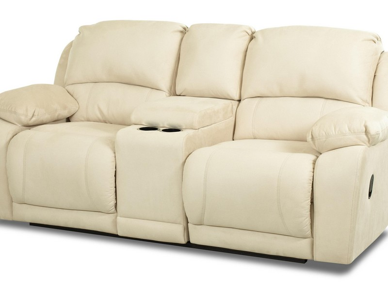 Loveseat With Console