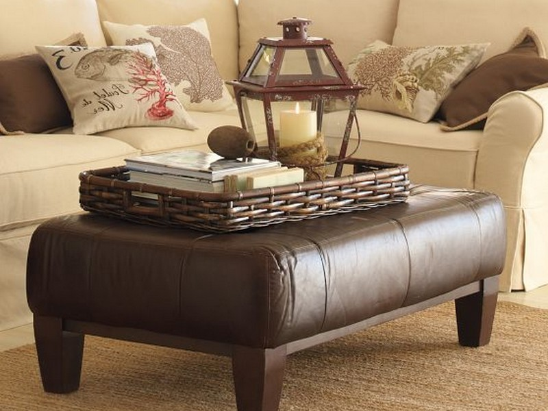 Loveseat With Ottoman Pottery Barn