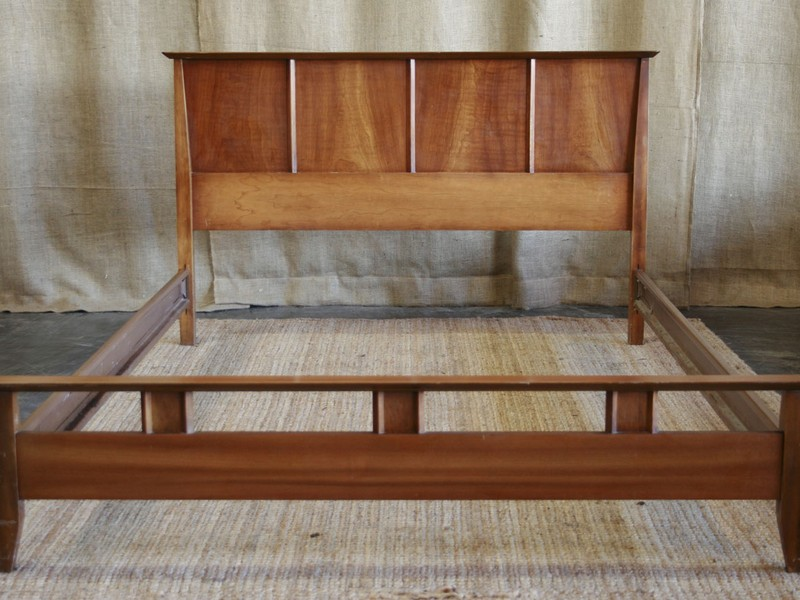 Low Headboard Queen Bed