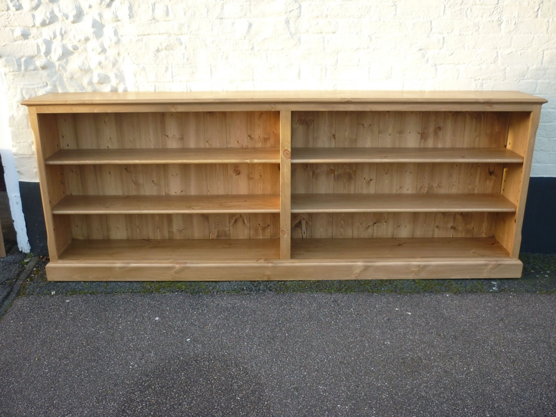 Low Long Bookcase