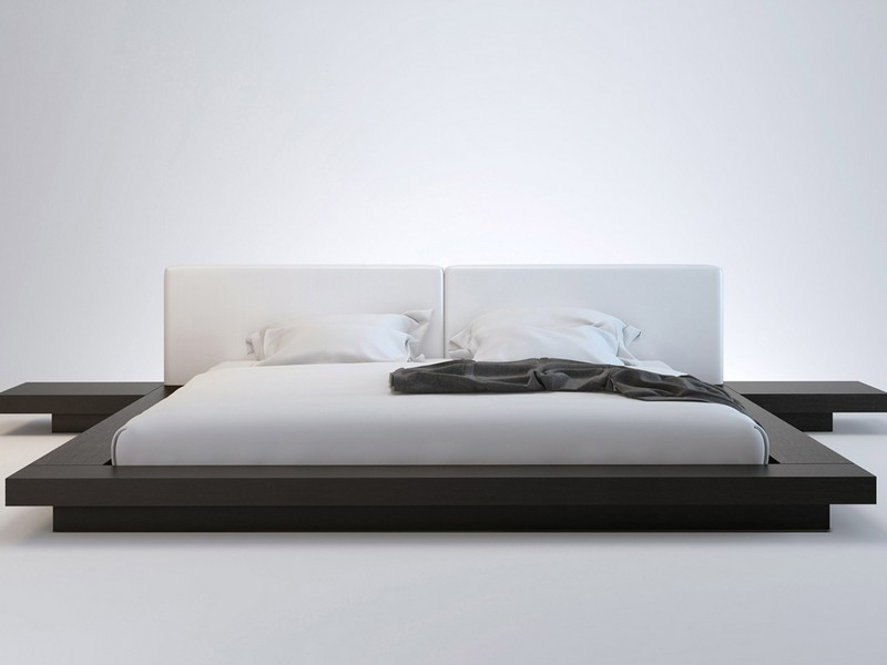 Low Platform Bed Frame Full