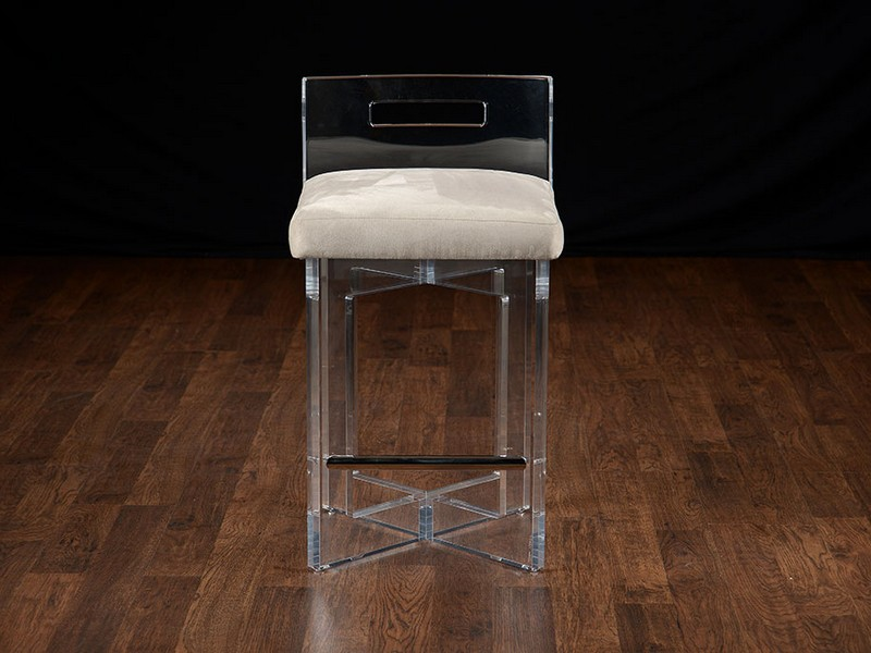 Lucite Bar Stools Ghost