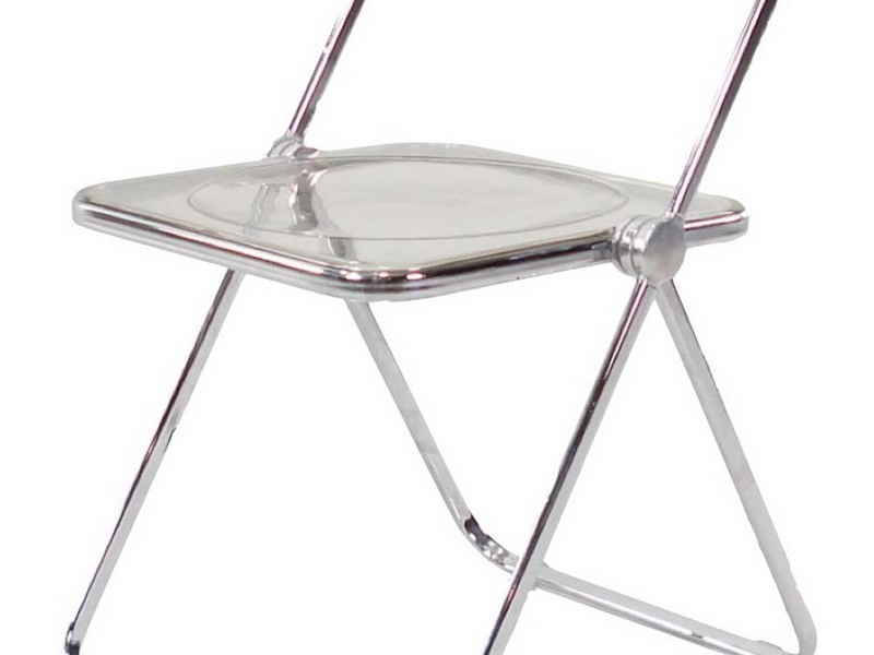 Lucite Folding Chairs
