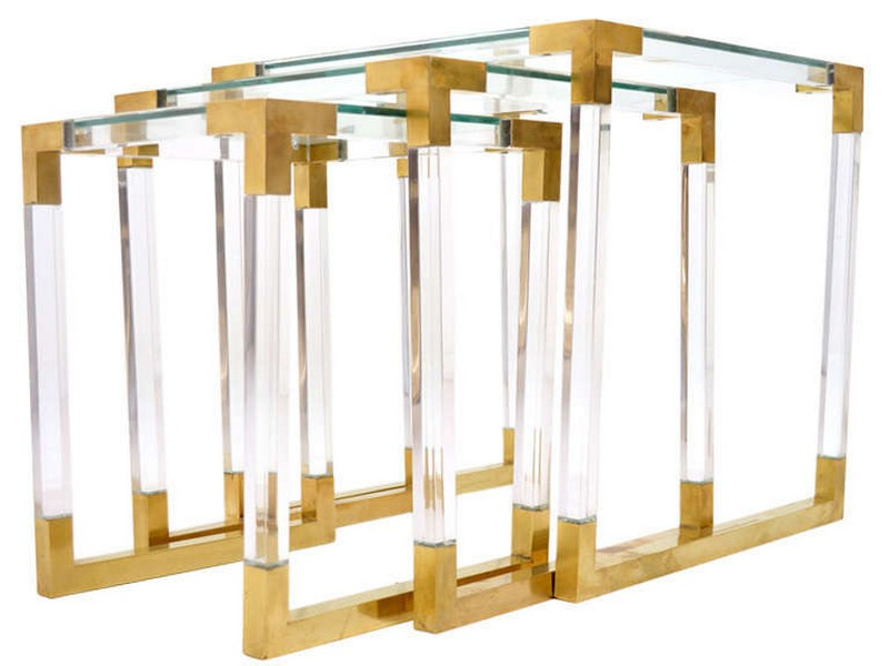 Lucite Nesting Tables Target