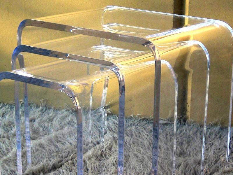 Lucite Nesting Tables