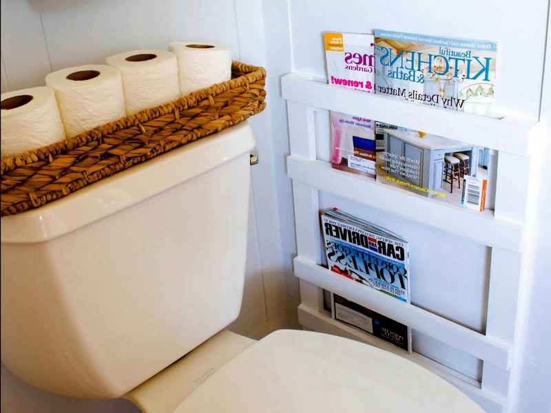 Magazine Rack For Bathroom Floor
