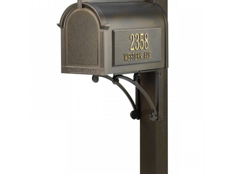 Mailbox Address Plaque