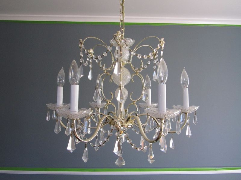 Make Your Own Crystal Chandelier