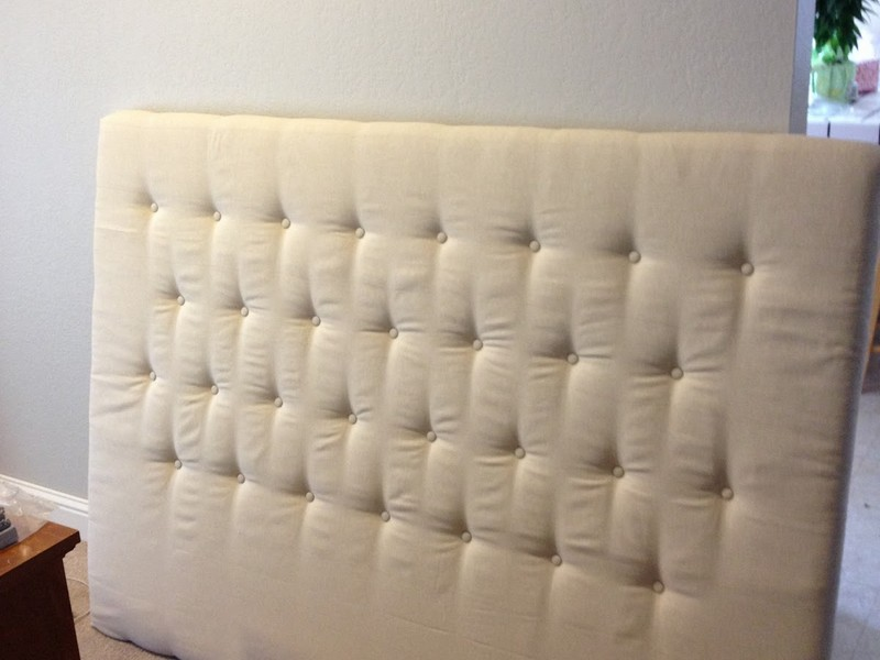 Making An Upholstered Headboard With Buttons