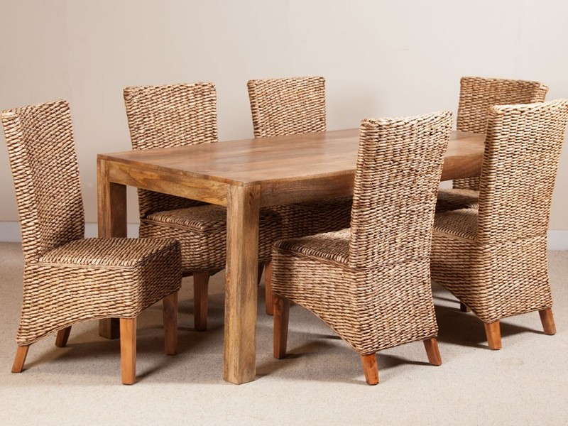 Mango Wood Dining Table Sets