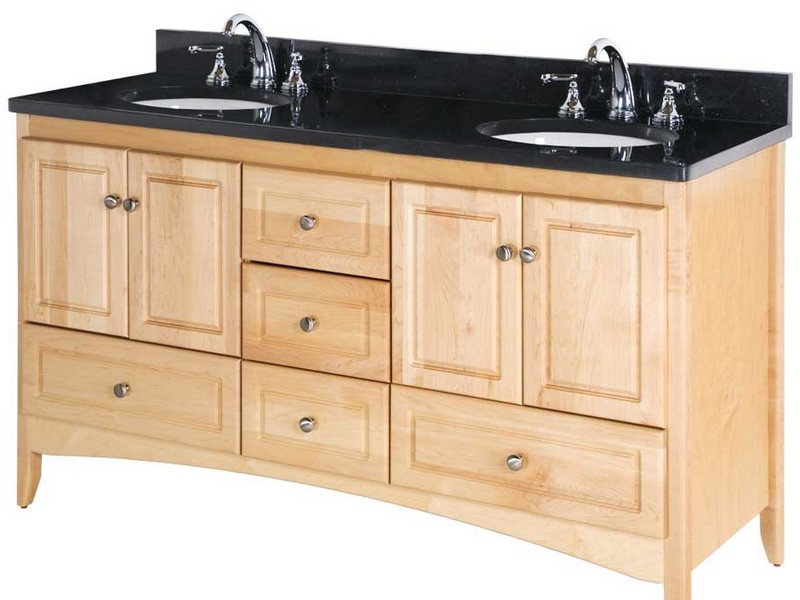Maple Bathroom Vanity Cabinet