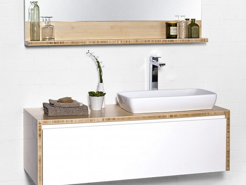 Maple Bathroom Vanity Units