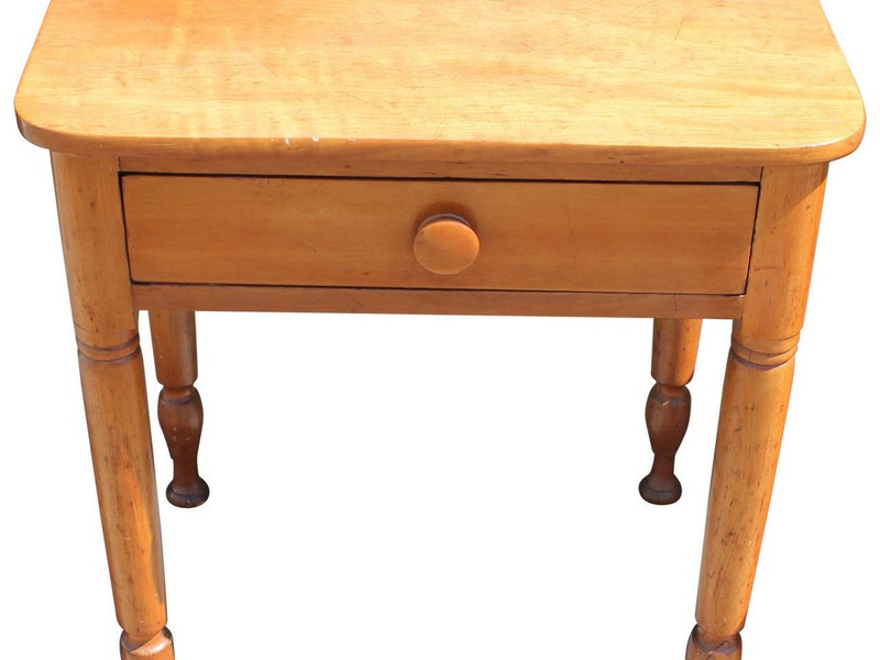 Maple End Tables Early American