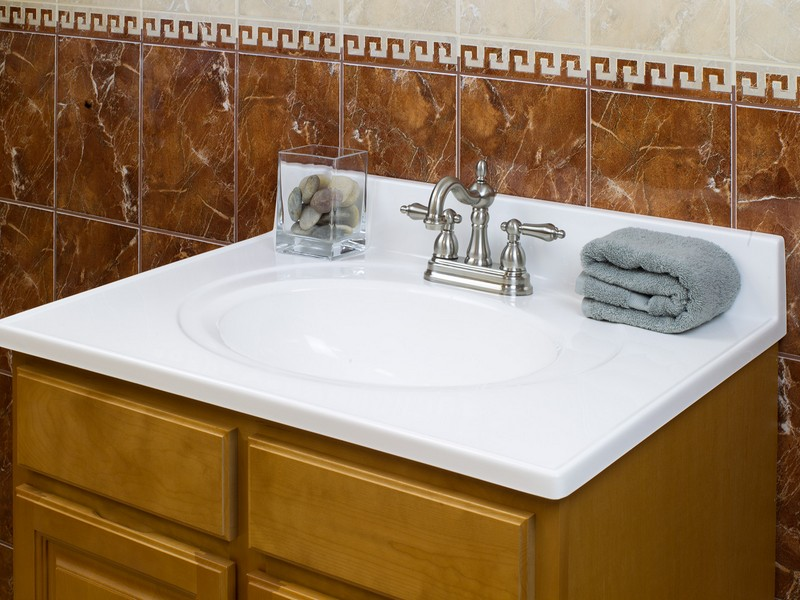 Marble Bathroom Sink Countertop