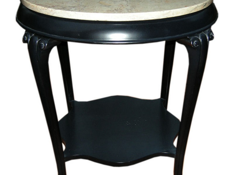 Marble Top Coffee And End Tables
