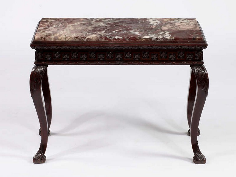 Marble Top Console Table