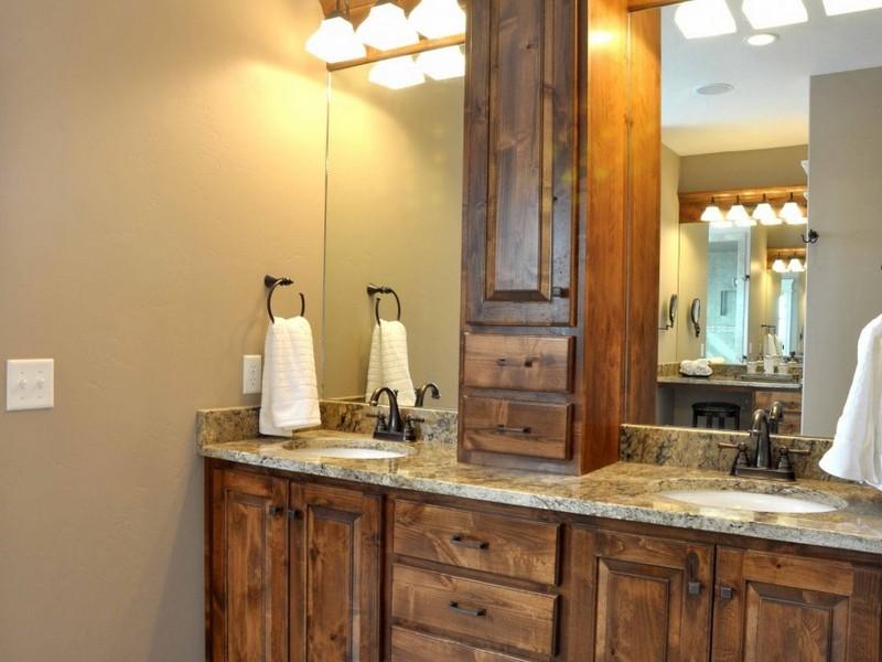 Master Bathroom Vanities Double Sink