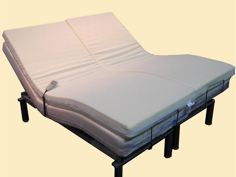 Memory Foam Adjustable Bed
