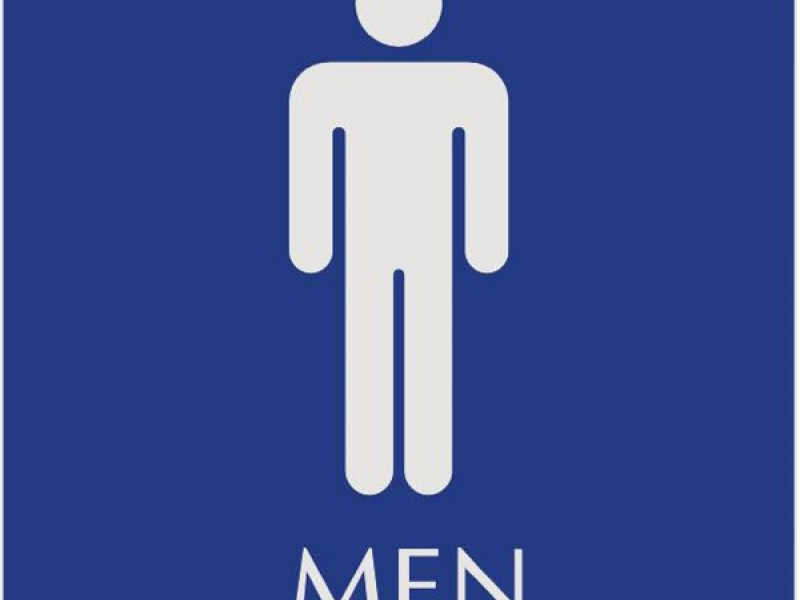 Mens Bathroom Signs Printable
