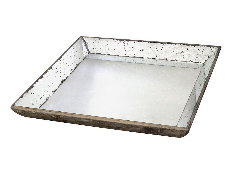 Mercury Glass Tray