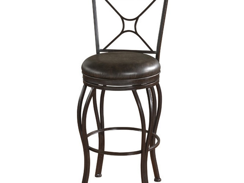 Metal Bar Chairs With Backs