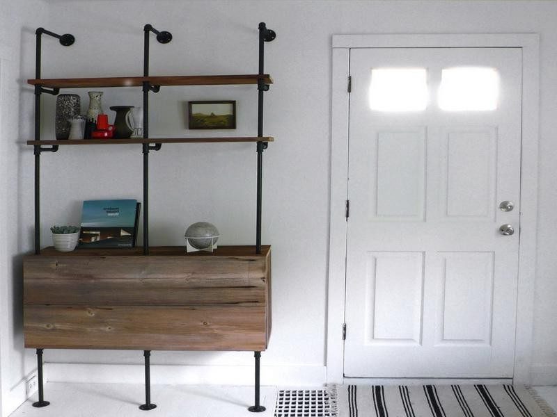 Metal Bathroom Shelving Unit