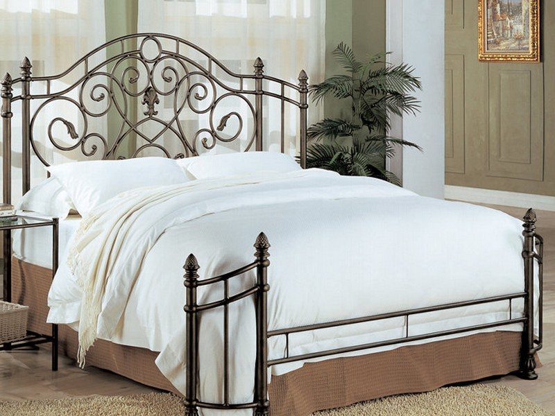 Metal Headboard Bed Frame