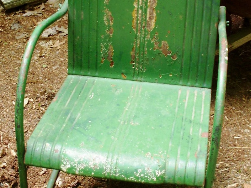Metal Lawn Furniture Vintage