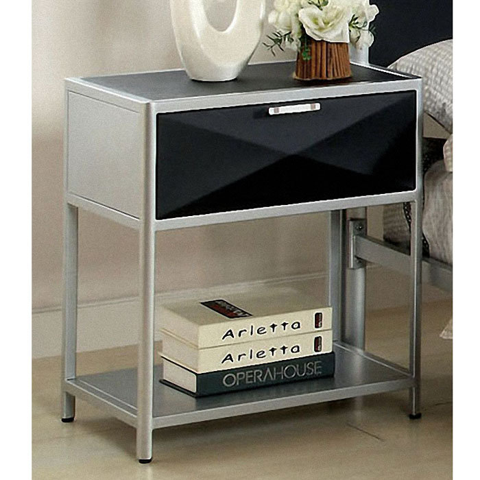 Metal Night Stands Bedroom