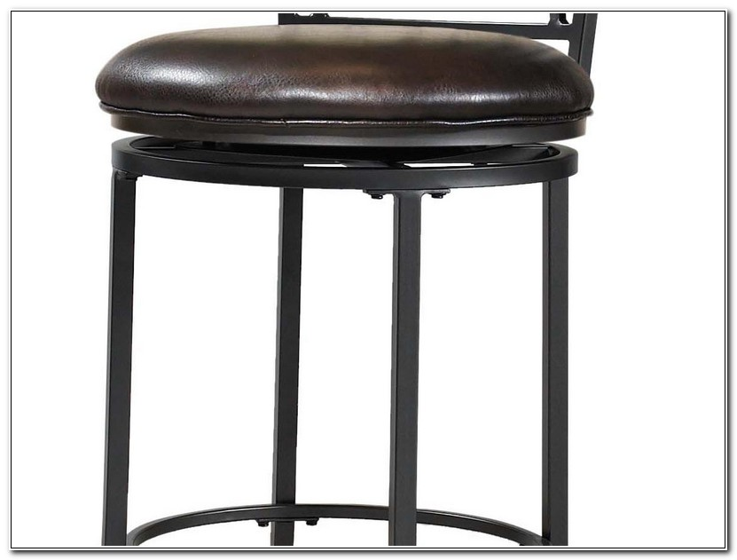 Metal Swivel Bar Stools With Back