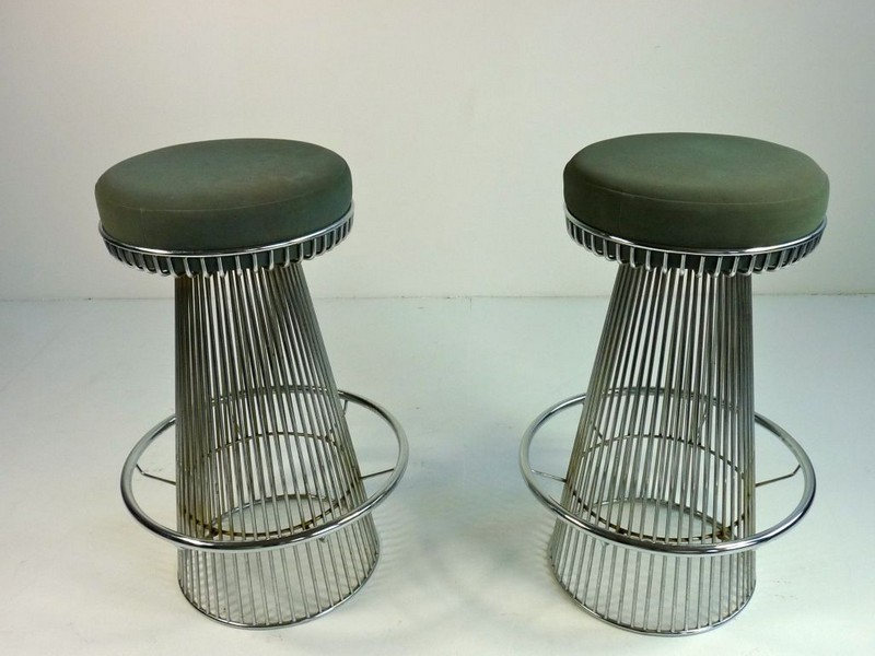Metal Wire Bar Stools