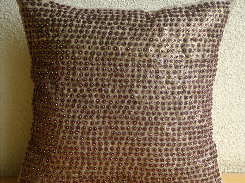 Metallic Throw Pillows