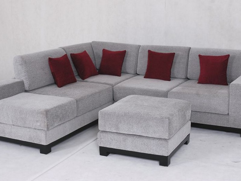 Microfiber Sectional Couch