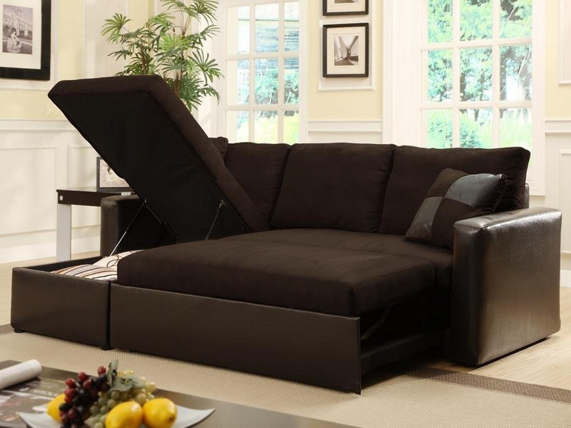 Microfiber Sofa Bed Sectional