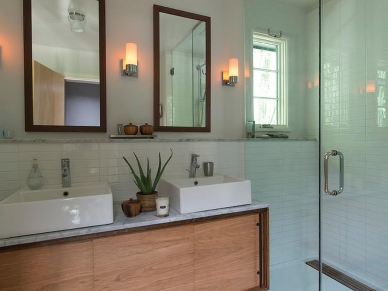 Mid Century Modern Bathroom Vanity Light