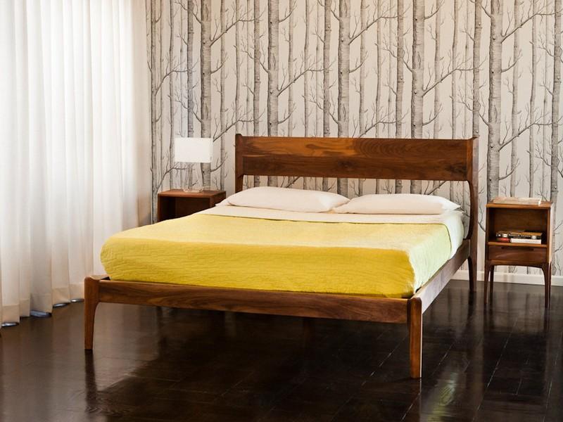 Mid Century Modern Beds