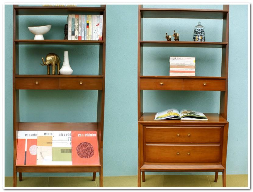 Mid Century Modern Bookshelf Plans