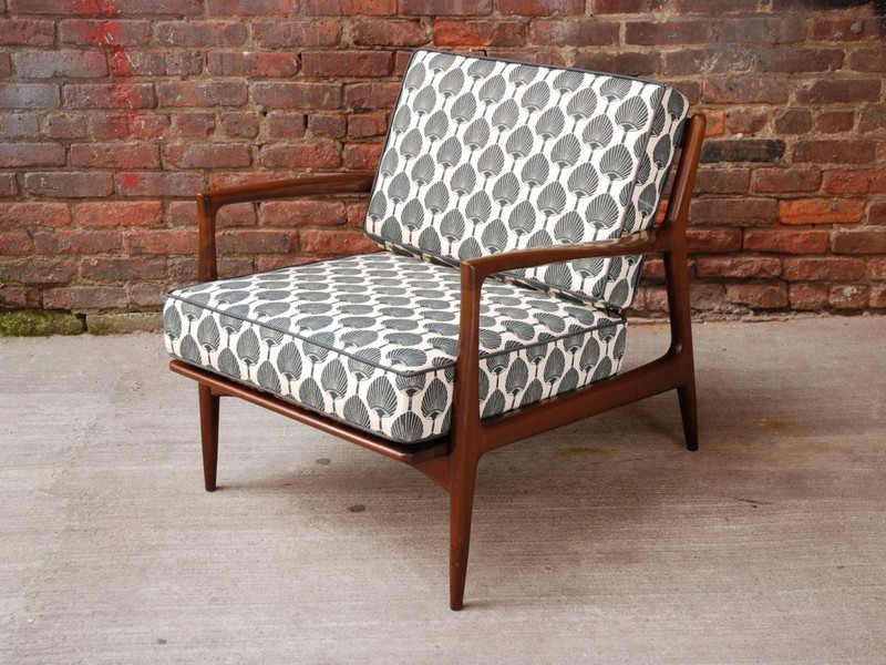 Mid Century Modern Club Chairs