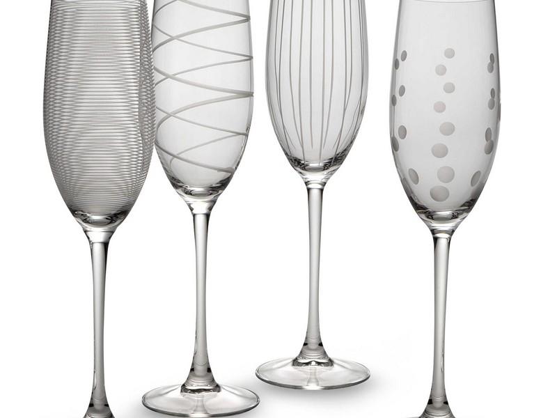 Mikasa Champagne Flutes Set Of 4