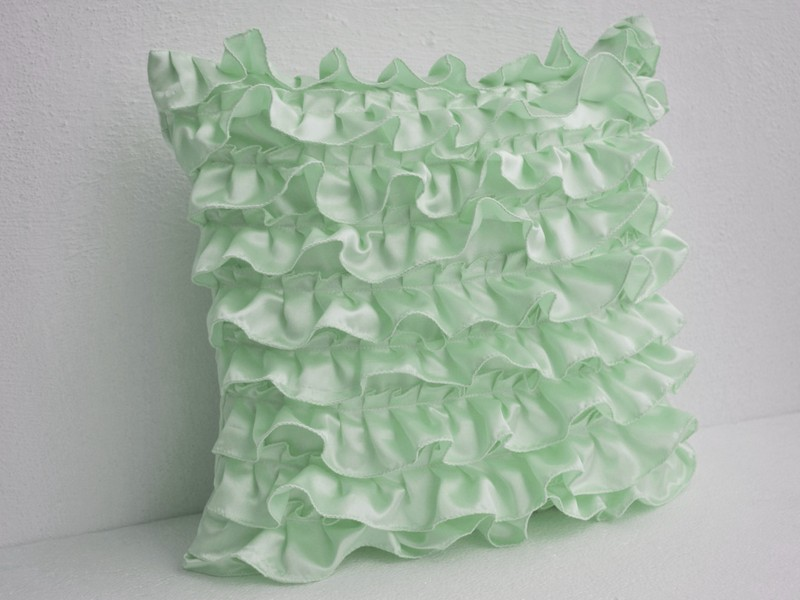 Mint Green Decorative Pillows