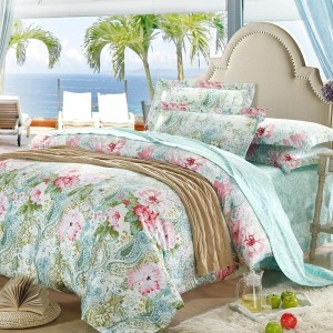 Mint Green Duvet Cover