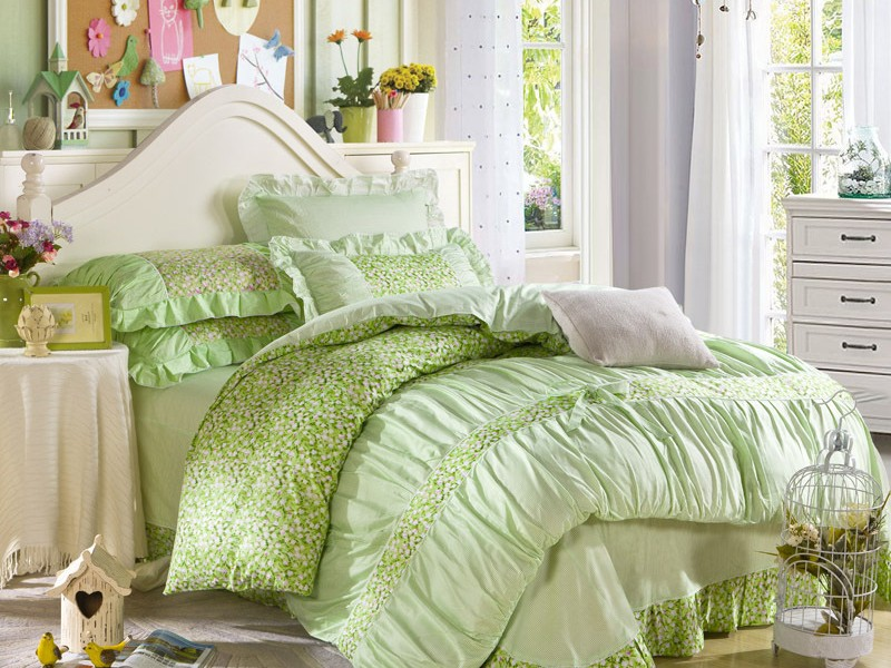 Mint Green Duvet Cover Sets