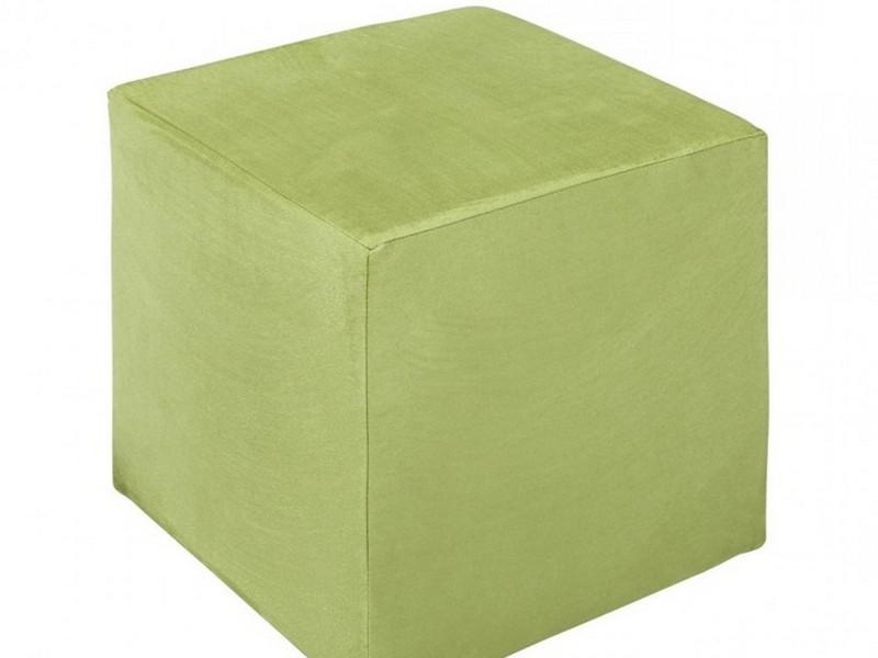 Mint Green Storage Ottoman