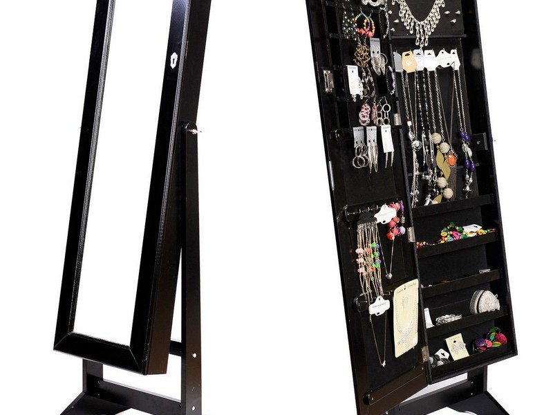 Mirror Jewelry Organizer