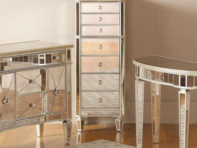Mirrored Accent Furniture