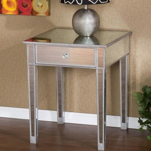 Mirrored Accent Tables