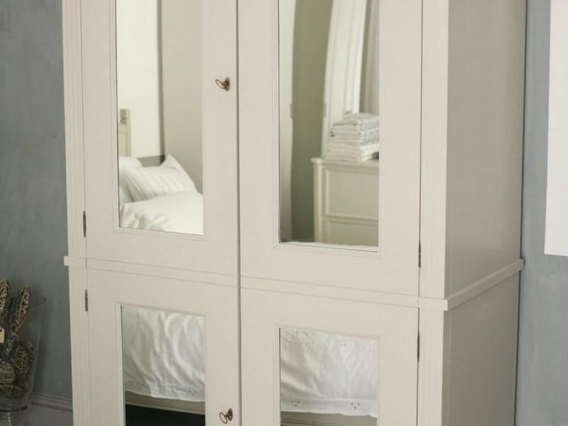 Mirrored Armoire Wardrobe