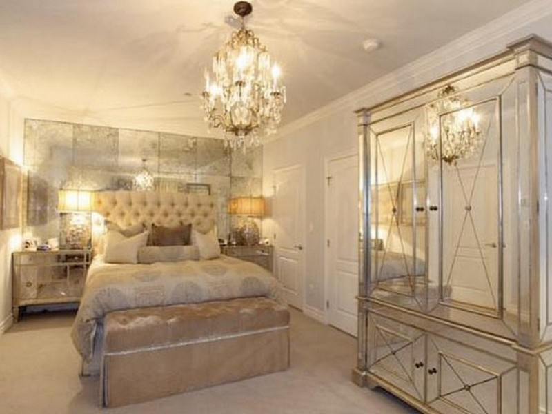 Gold Mirrored Bedroom Furniture Home Design Ideas